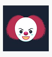 Pennywise the Dancing Clown Photographic Print