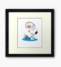 Funny cool Drawing Framed Print