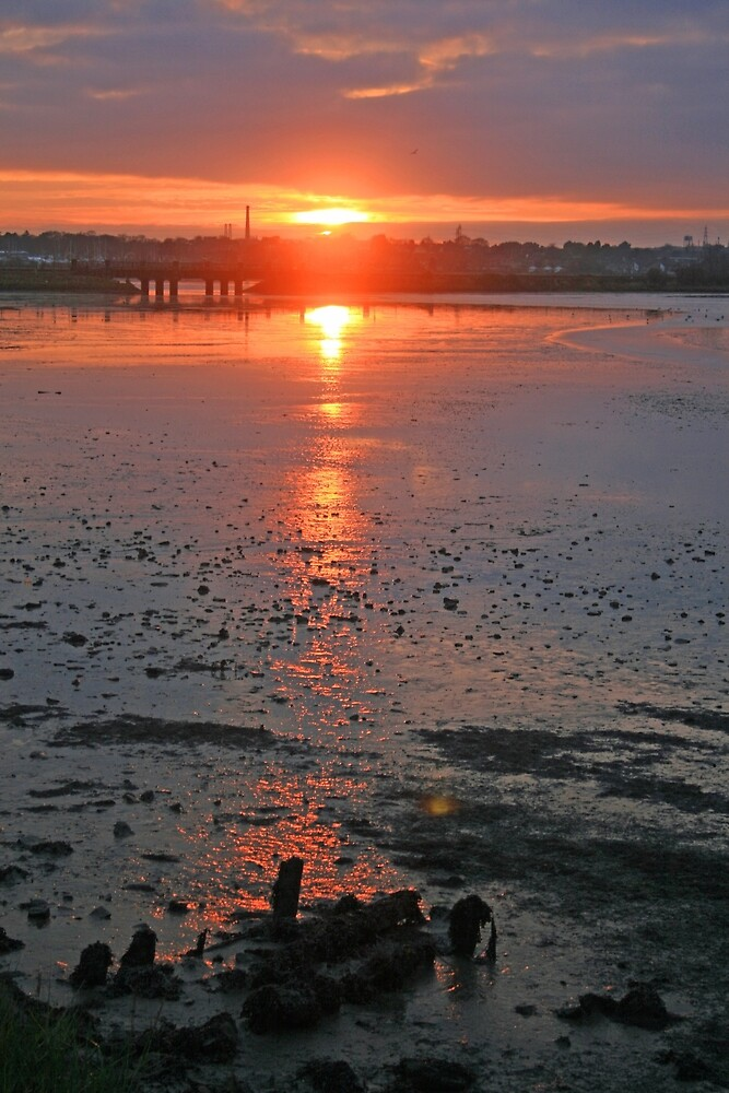 Sundown on the Bay by RedHillDigital