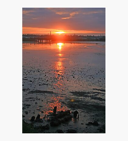 Sundown on the Bay Photographic Print