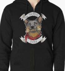 Mad Max - Dog Zipped Hoodie