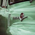 Spätes Modell Ford F-100 Truck Detail von Christopher Boscia