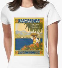 Jamaica Women's Fitted T-Shirt