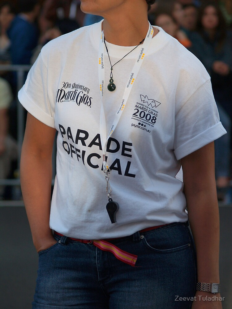 Mardi Gras official t-shirt by Zeevat Tuladhar