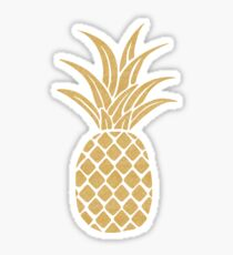 Gold Pineapple  Sticker