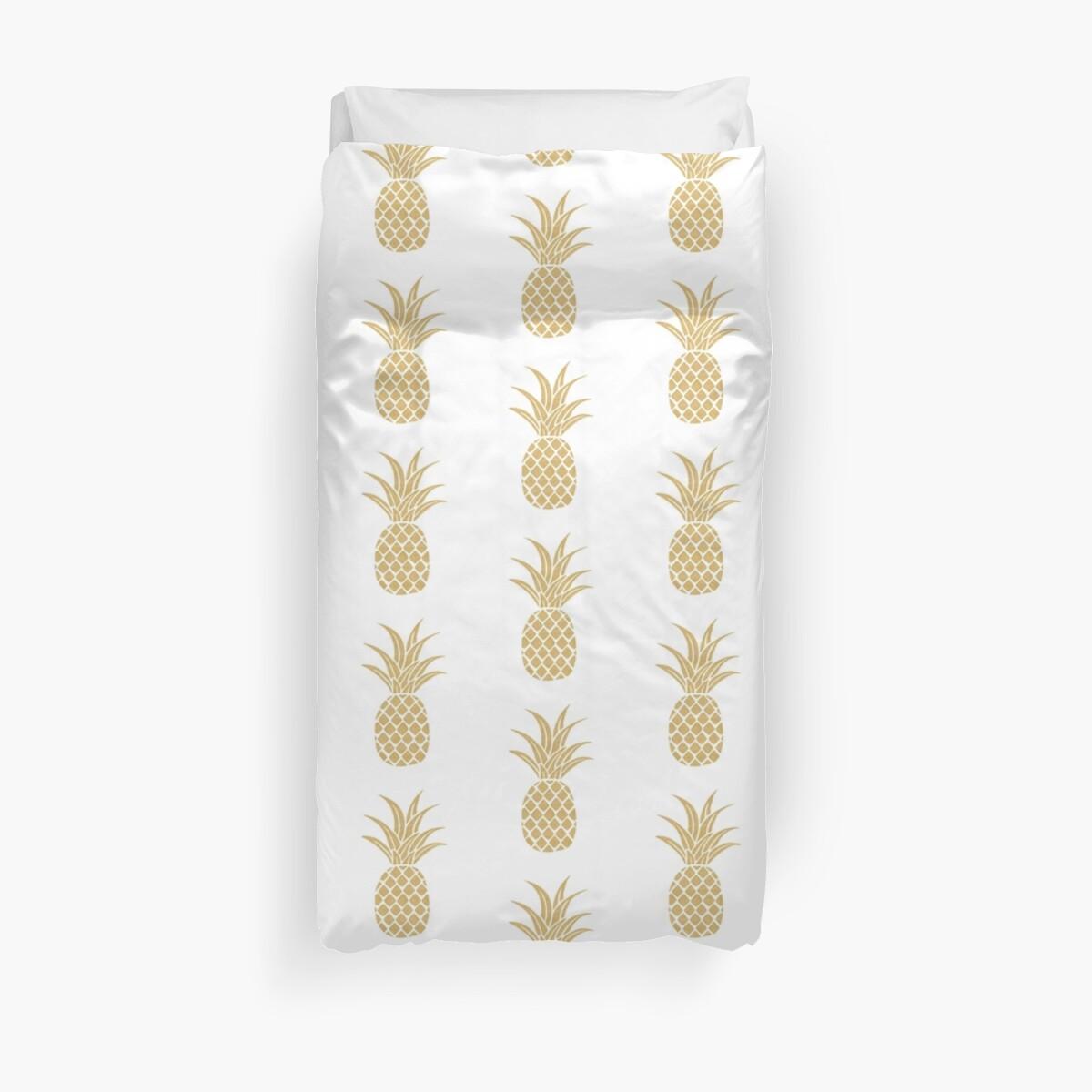 Gold Ananas von bombinodesigns