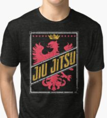 Eagle Jiu Jitsu Full Frame Tri-blend T-Shirt