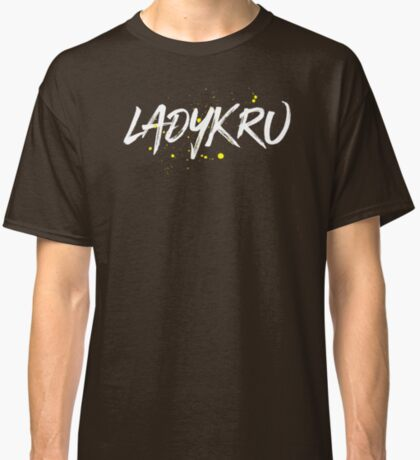 Ladykru (White Text) Classic T-Shirt