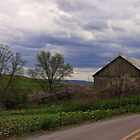 Barn by the road by vigor