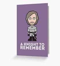Sir Leon Greeting Card