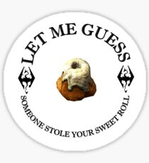 Skyrim Sweetroll Sticker
