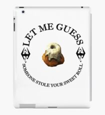 Skyrim Sweetroll iPad Case/Skin