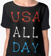 USA ALL DAY Chiffon Top