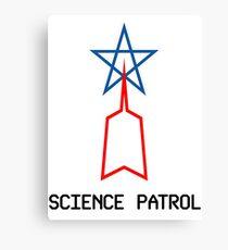 Science Patrol - Ultraman Canvas Print