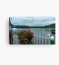 Bowness Flowers Canvas Print
