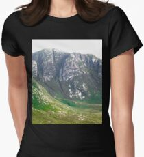 The Poisoned Glen, Donegal, Ireland Women's Fitted T-Shirt
