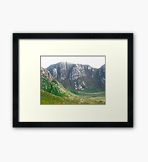 The Poisoned Glen, Donegal, Ireland Framed Print