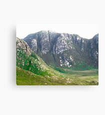 The Poisoned Glen, Donegal, Ireland Canvas Print