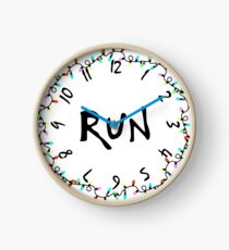 Stranger Run Clock Clock
