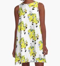 Mocking Spongebob Meme A-Line Dress