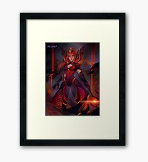 Magma Lux Framed Print