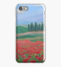 Somewhere in Tuscany iPhone Case/Skin