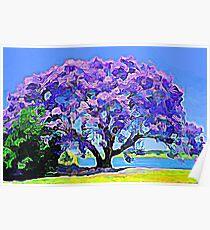 Purple Rain in Hilo Poster