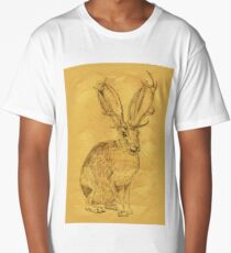 Beware the Jackalope - Vintage Long T-Shirt