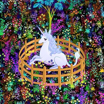 The Last Unicorn in Captivity by Ellador