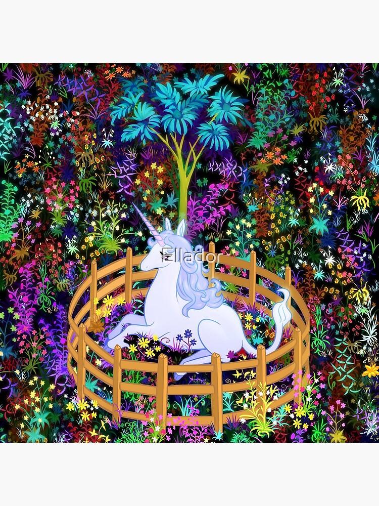 The Last Unicorn in Captivity by Ellador