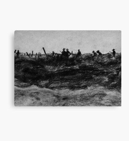 Front Line Canvas Print