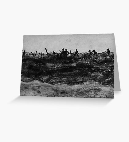 Front Line Greeting Card
