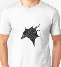 Dragon-Left Profile Unisex T-Shirt