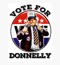 vote for Donnelly Photographic Print