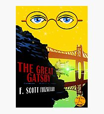 Retro The Great Gatsby Travel Poster Photographic Print