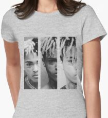 XXXTENTACION - Triple X mug Shot Womens Fitted T-Shirt