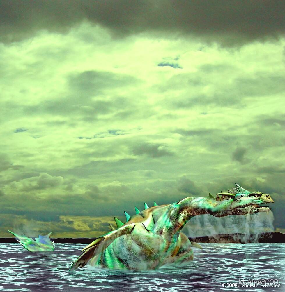 Opal Sea Dragon by McAfee2000