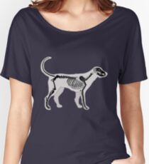 DOG ANATOMY X-RAY Women's Relaxed Fit T-Shirt