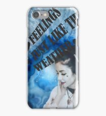 Marina and the Diamonds - Weather iPhone Case/Skin