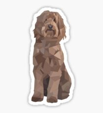 A Very Proper Pup Sticker