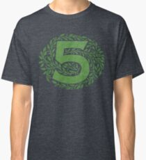 The Five By - Weathered Logo Classic T-Shirt
