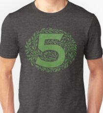 The Five By - Weathered Logo Unisex T-Shirt