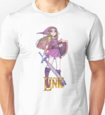 Female Link Purple Unisex T-Shirt