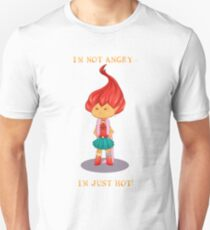 Not angry Unisex T-Shirt