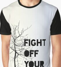 Fight Off Your Demons - Brand New Graphic T-Shirt