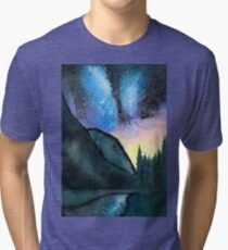 Sun Sets, Stars Appear Tri-blend T-Shirt