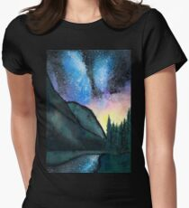 Sun Sets, Stars Appear Womens Fitted T-Shirt