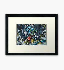 Atrocious Stormfront Framed Print