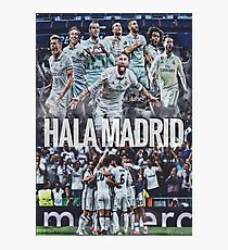 Hala Madrid Photographic Print
