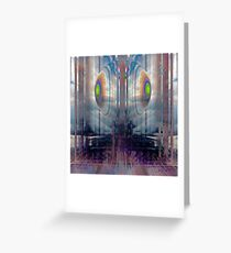 in hard times you gotta believe (doubt) Greeting Card